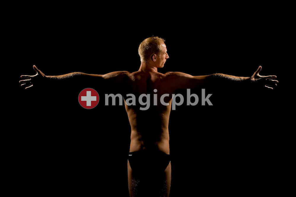 Karel NOVY of Switzerland poses during a portrait photo session during a training camp in Tenero, Switzerland, 29 July, 2007. (Photo by Patrick B. Kraemer / MAGICPBK)