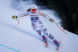 27.01.2019, Kandahar, Garmisch, GER, FIS Weltcup Ski Alpin, Abfahrt, Damen, im Bild Kira Weidle (GER) // Kira Weidle of Germany in action during her run in the ladie's Downhill of FIS ski alpine world cup at the Kandahar in Garmisch, Germany on 2019/01/27. EXPA Pictures © 2019, PhotoCredit: EXPA/ Dominik Angerer