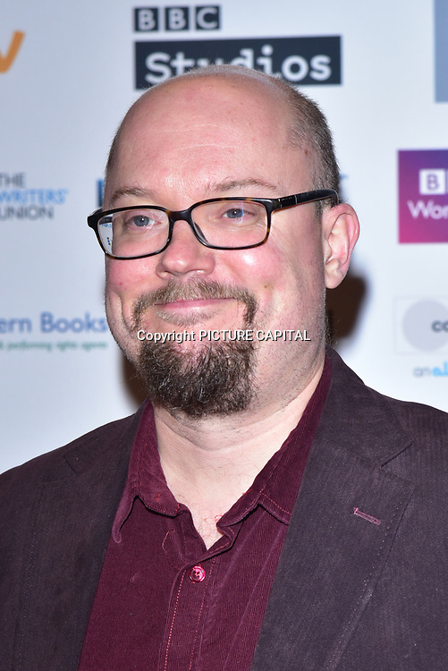 Andrew Jones attends The Writers' Guild Awards at Royal College of Physicians on 15th January 2018.