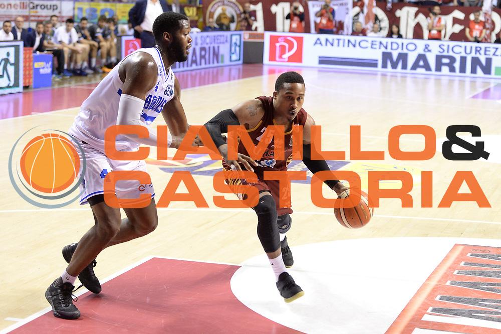 Tyrus McGee<br /> Umana Reyer Venezia - Enel Brindisi <br /> Lega Basket Serie A 2016/2017<br /> Venezia 07/05/2017<br /> Foto Ciamillo