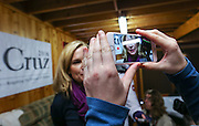 Heidi Cruz campaigns for her husband Republican presidential candidate Sen. Ted Cruz, R-Texas, in Nashua, N.H. Friday, Jan. 8, 2016.  CREDIT: Cheryl Senter for The New York Times
