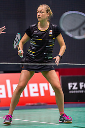 Selena Piek during the Dutch Championships Badminton on February 1, 2020 in Topsporthal Almere, Netherlands