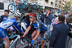 Elise Maes (LUX) of WNT Rotor Pro Cycling cools down after Stage 1 of the Setmana Cicilsta Valenciana - a 118 km road race, between Rotova and Gandia on February 22, 2018, in Valencia, Spain. (Photo by Balint Hamvas/Velofocus.com)