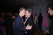 Patrick Kielty and Eddie Jordan. The Laurent-Perrier Pink Party in aid of The Prince's Trust at the Sanderson Hotel on April 27, 2005. ONE TIME USE ONLY - DO NOT ARCHIVE  © Copyright Photograph by Dafydd Jones 66 Stockwell Park Rd. London SW9 0DA Tel 020 7733 0108 www.dafjones.com