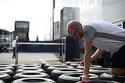 September 4-7, 2014 : Italian Formula One Grand Prix - Mclaren mechanic