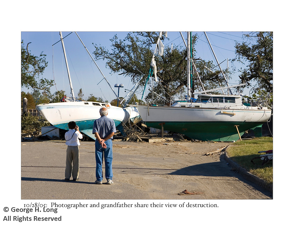 10/28/05:  Photographer and grandfather share their view of destruction.