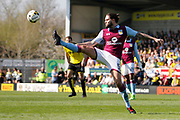 Aston Villa midfielder Henri Lansbury (5) during the EFL Sky Bet Championship match between Burton Albion and Aston Villa at the Pirelli Stadium, Burton upon Trent, England on 8 April 2017. Photo by Richard Holmes.