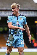 Cameron McGeehan of Cambridge United shouts at the assistant referee during the Sky Bet League 2 match at Kenilworth Road, Luton<br /> Picture by David Horn/Focus Images Ltd +44 7545 970036<br /> 31/01/2015