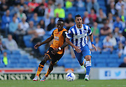 Brighton central midfielder, Beram Kayal breaks forward the Sky Bet Championship match between Brighton and Hove Albion and Hull City at the American Express Community Stadium, Brighton and Hove, England on 12 September 2015.