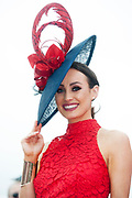 Repro Free.  Finalist Sinead de Buitleir  from Kilkenny  at the g Hotel Best Dressed competitions at the Galway Races. Photo: Andrew Downes, xposure
