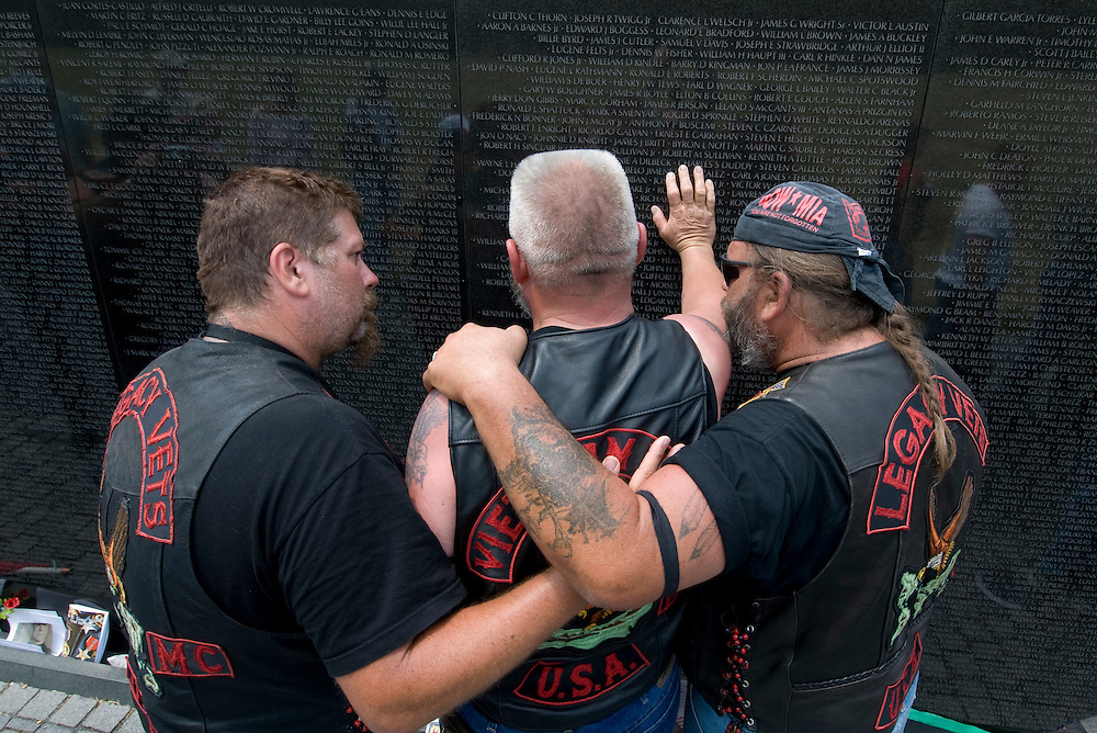 Rolling Thunder XX at the Vietnam Veterans Memorial.