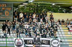 Supporters of ND Mura during football match between ND Mura and ND Tabor Sezana in Round #28 of 2.SNL 2017/18 on May 13, 2018 in Mestni stadion Fazanerija , Murska Sobota , Slovenia. Photo by Mario Horvat / Sportida