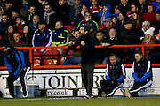 Watford Manager Quique Flores  during the The FA Cup fourth round match between Nottingham Forest and Watford at the City Ground, Nottingham, England on 30 January 2016. Photo by Simon Davies.