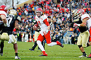 November 23, 2012: Utah Utes freshman quarterback Travis Wilson (7) scrambles for a touchdown during the NCAA Football game between the Utah Utes and the Colorado Buffaloes at Folsom Field in Boulder Colorado