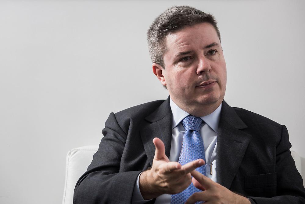 Belo Horizonte, Brasil.<br /> <br /> Retrato do politico brasileiro Antonio Anastasia.<br /> <br /> Portrait of a brazilian politician Antonio Anastasia.<br /> <br /> Foto: BRUNO MAGALHAES / NITRO