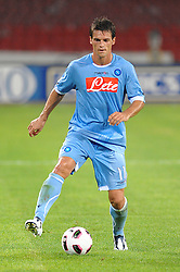 03.08.2010, Stadio San Paolo, Neapel, ITA, Friendly Match, SSC Neapoli vs VFL Wolfsburg, im Bild cristian maggio (napoli).EXPA Pictures © 2010, PhotoCredit: EXPA/ InsideFoto/ Massimo Oliva +++++ ATTENTION - FOR AUSTRIA AND SLOVENIA CLIENT ONLY +++++. .. / SPORTIDA PHOTO AGENCY