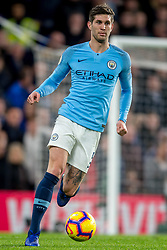 December 8, 2018 - London, Greater London, England - John Stones of Manchester City during the Premier League match between Chelsea and Manchester City at Stamford Bridge, London, England on 8 December 2018. (Credit Image: © AFP7 via ZUMA Wire)