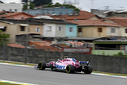 November 10, 2018 - Sao Paulo, Brazil - Motorsports: FIA Formula One World Championship 2018, Grand Prix of Brazil World Championship;2018;Grand Prix;Brazil ,  #31 Esteban Ocon (Sahara Force India F1 Team) (Credit Image: © Hoch Zwei via ZUMA Wire)