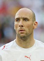 Fussball WM 2006  Gruppenspiel  Vorrunde  Nationalmannschaft Tschechien Jan Koller (CZE)