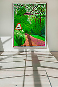 David Hockney at Annely Juda