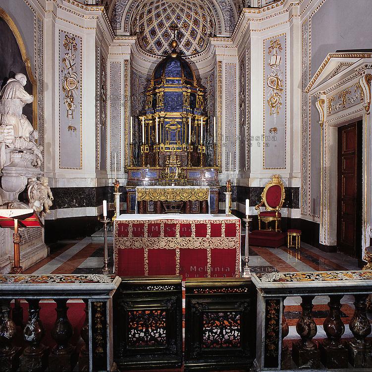 Palermo, the cathedral, &quot; cappella del SS. Sacramento, il grande ciborio, 1663.<br /> Cattedrale di Palermo.