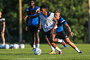 Forest Green Rovers Reece Brown(10) during the Forest Green Rovers Training session at Browns Sport and Leisure Club, Vilamoura, Portugal on 23 July 2017. Photo by Shane Healey.