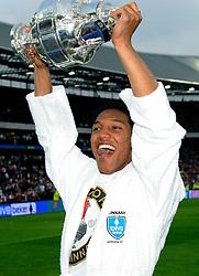 27-04-2008 VOETBAL: KNVB BEKERFINALE FEYENOORD - RODA JC: ROTTERDAM <br /> Feyenoord wint de KNVB beker - Jonathan de Guzman<br /> ©2008-WWW.FOTOHOOGENDOORN.NL