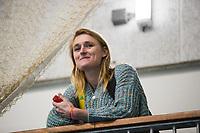 ROTTERDAM - ZAALHOCKEY HOOFDKLASSE.  bondscoach zaal bij de dames, Marieke Dijkstra.    COPYRIGHT KOEN SUYK