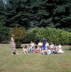 Photographs for the Paddock Wood Finishing School Brochure taken on 9th August 1982.