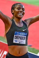 July 20, 2018 - Monaco, France - 3000m Steeplechase femmes - Beatrice Chepkoech  (Credit Image: © Panoramic via ZUMA Press)