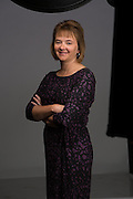 22 September 2014- Dawn Bonacci with Morgan Stanley is photographed at Omaha Publications for Omaha Magazine.