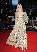 13.OCTOBER.2012. LONDON<br /> <br /> ELLE FANNING ATTENDS THE PREMIERE OF 'GINGER AND ROSA' DURING THE 56TH BFI LONDON FILM FESTIVAL AT THE ODEON CINEMA, LEICESTER SQUARE.<br /> <br /> BYLINE: EDBIMAGEARCHIVE.CO.UK<br /> <br /> *THIS IMAGE IS STRICTLY FOR UK NEWSPAPERS AND MAGAZINES ONLY*<br /> *FOR WORLD WIDE SALES AND WEB USE PLEASE CONTACT EDBIMAGEARCHIVE - 0208 954 5968*