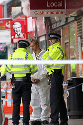 Oxford,Oxfordshire Monday 9th May 2016<br /> <br /> 18 year old fighting for his life after being stabbing in his heart<br /> <br /> Security guard at the Sainsbury&rsquo;s supermarket in Cowley Road, Danny Boulahneche, said:  &ldquo;I do not want to see this at all. Nobody wants to see somebody get stabbed.&rdquo;<br /> <br /> He said he is not sure if the victim would manage to survive.<br /> <br /> Mr Boulahneche added: &ldquo;His friend was there and told me he had been stabbed in the heart by a knife.<br /> <br /> &ldquo;I rang the police straight away. I did not see it happen.<br /> <br /> &ldquo;He was definitely just a teenager. He might have been coming home from school.&rdquo;<br /> <br /> He continued: &ldquo;They walked onto Cowley Road and then one of them fell to the floor.<br /> <br /> &ldquo;I ran over to them and asked &lsquo;what&rsquo;s going on?&rsquo;.<br /> <br /> &ldquo;The friend said &lsquo;my friend has been stabbed in the heart with a knife&rsquo;.&rdquo;<br /> <br /> Cordons have been set up between Union Street, Princes Street, and James Street following the assault before 3pm.<br /> <br /> South Central Ambulance Service spokesman David Gallagher said: &ldquo;We were called at 2.46pm to reports that an 18-year-old male was seriously assaulted.<br /> <br /> &ldquo;We sent a rapid response vehicle and an ambulance. He was taken to the John Radcliffe Hospital in a serious life threatening condition.&rdquo;<br /> <br /> Manager of nearby Truck Store record shop, Carl Smithson, said: &ldquo;I saw someone lying on the ground with a bunch of people around them by Sainsbury&rsquo;s.<br /> <br /> &ldquo;I think it was a man on the floor.<br /> <br /> &ldquo;There are two police cars and a van at the scene and there was an ambulance here before.<br /> <br /> &ldquo;Police are currently clearing the area.&rdquo;<br /> <br /> Thames Valley Police&rsquo;s Oxford Twitter account said at 3.23pm today: &ldquo;We are dealing with a police incident in Cowley Road at this time. Road closures are in place<br /> <br /> @UKNIP
