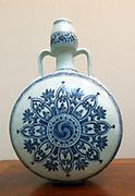 Ming dynasty, Yongle reign period. Porcelain painted in under glaze cobalt blue,.Jingdezhen, Jiangxi province.