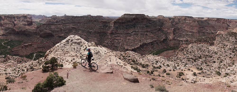 SHOT 5/21/17 11:43:02 AM - Emery County is a county located in the U.S. state of Utah. As of the 2010 census, the population of the entire county was about 11,000. Includes images of mountain biking, agriculture, geography and Goblin Valley State Park. (Photo by Marc Piscotty / © 2017)