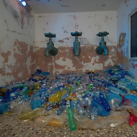 """VENICE, ITALY - JUNE 02: """"Au"""" an installation by  artist Azad Nanakeli at the Iraq pavillion on June 2, 2011 in Venice, Italy. This year's Biennale is the 54th edition and will run from June 4th until 27 November."""