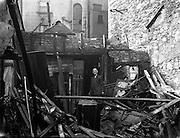 25/4/1958<br /> 4/25/1958<br /> 25 April 1958<br /> Fire at Ormond Quay Dublin