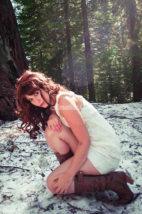 Model: Kristianna Kathleen<br /> Location: Yosemite National Park