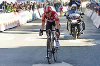Bak Ytting Lars - Lotto Soudal - 31.03.2015 - Trois jours de La Panne - Etape 01 - De Panne / Zottegem <br /> Photo : Sirotti / Icon Sport<br /> <br />   *** Local Caption ***