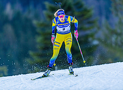 15.01.2020, Chiemgau Arena, Ruhpolding, GER, IBU Weltcup Biathlon, Sprint, Damen, im Bild Hanna Oeberg (SWE) // Hanna Oeberg of Sweden during the women sprint competition of BMW IBU Biathlon World Cup at the Chiemgau Arena in Ruhpolding, Germany on 2020/01/15. EXPA Pictures © 2020, PhotoCredit: EXPA/ Stefan Adelsberger