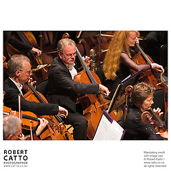 NZSO 60th Anniversary Concert at Wellington Town Hall, Wellington, New Zealand.