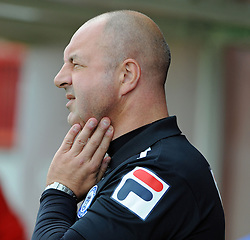 Rochdale Manager, Keith Hill - photo mandatory by-line David Purday JMP- Tel: Mobile 07966 386802 - 06/09/14 - Crawley Town v Rochdale - SPORT - FOOTBALL - Sky Bet Leauge 1 - London - Checkatrade.com Stadium