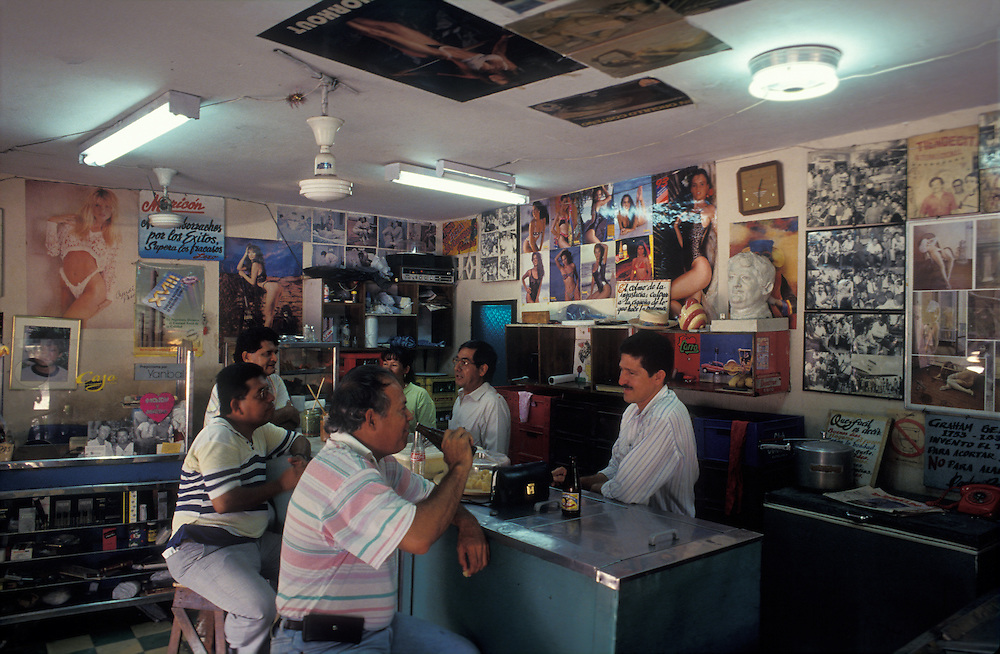 bar where Gabriel Garcia Marquez used to drink, Barranquilla, Colombia