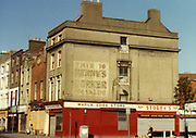 Old Dublin Amature Photos of Dublin July 1983 WITH, Regans Pub, Tara St,  Old House Tallagh, North Kings St, Old Church, Parnell St, Moor St, Dockerlls, Little Brittan St, Tobacco Distributors, Pearse St.
