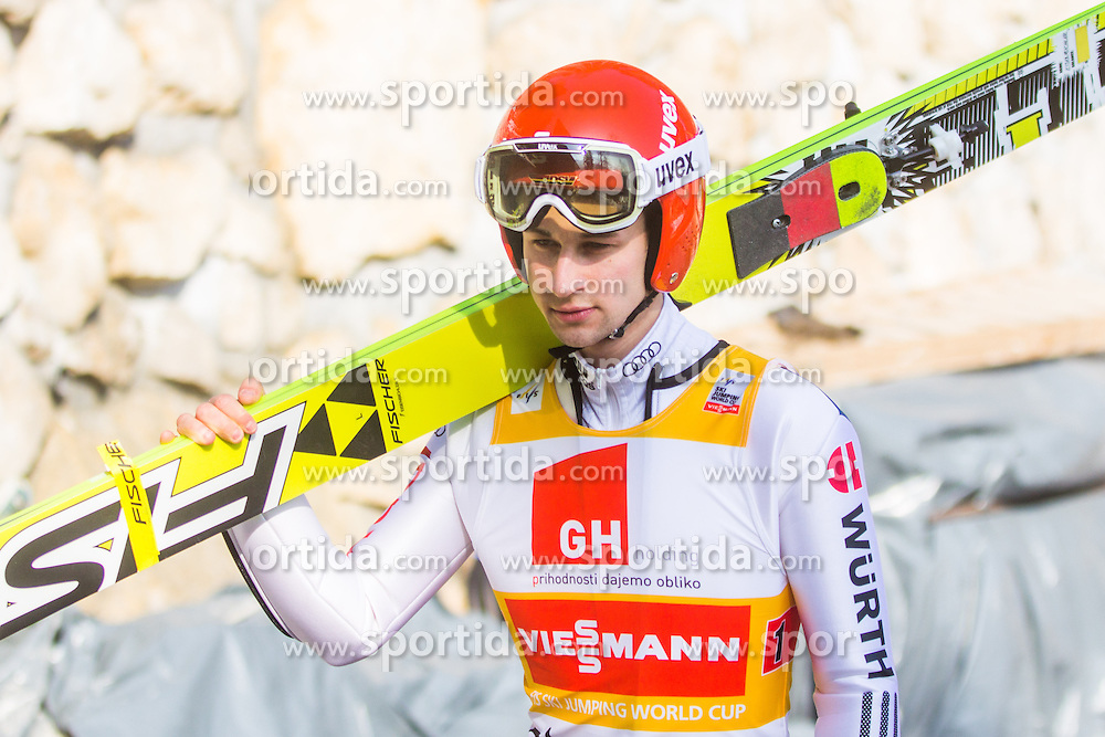 Markus Eisenbichler of Germany during the Flying Hill Team Competition at Day 3 of FIS World Cup Ski Jumping Final, on March 21, 2015 in Planica, Slovenia. Photo by Ziga Zupan / Sportida