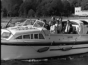 Galway Oyster Festival..1982.09.09.1982.09.09.1982.9th September 1982..Image of cruise on the Shannon..The Festival was held on the banks of the Shannon at Portumna Co.,Galway..It was held in the picturesque new marina. The event was sponsored by Guinness. Emerald Star line were also represented
