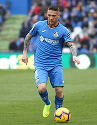 December 15, 2018 - Getafe, Madrid, Spain - Antunes of Getafe in action during La Liga Spanish championship, , football match between Getafe and Real Sociedad, December 15, in Coliseum Alfonso Perez in Getafe, Madrid, Spain. (Credit Image: © AFP7 via ZUMA Wire)