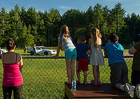 Laconia's National Night Out at Woodland Heights School Tuesday, August 8, 2012.  (Karen Bobotas/for the Laconia Daily Sun)
