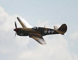 Curtiss P-40F Warhawk, 1942, The Duxford Air Show, 14th September 2014