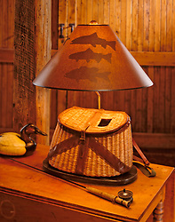 Fly fishing Creel lamp